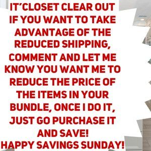 IT'S CLOSET CLEAR OUT TODAY 9-20-20